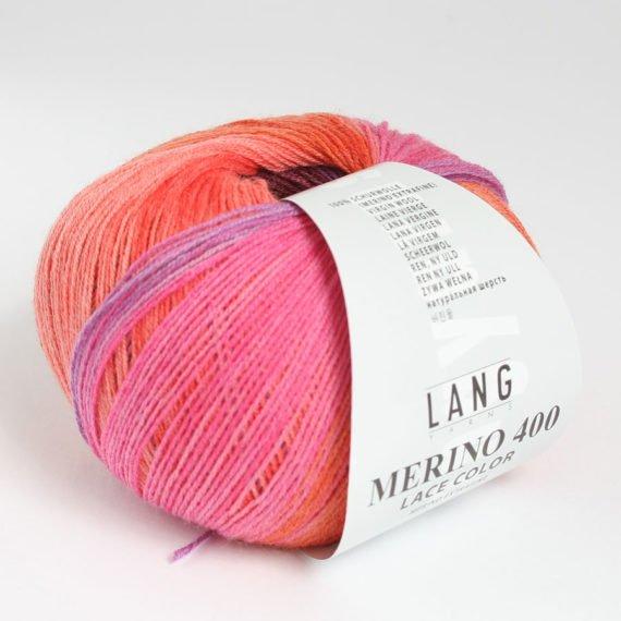 włóczka Lang Yarns merino 400 lace color