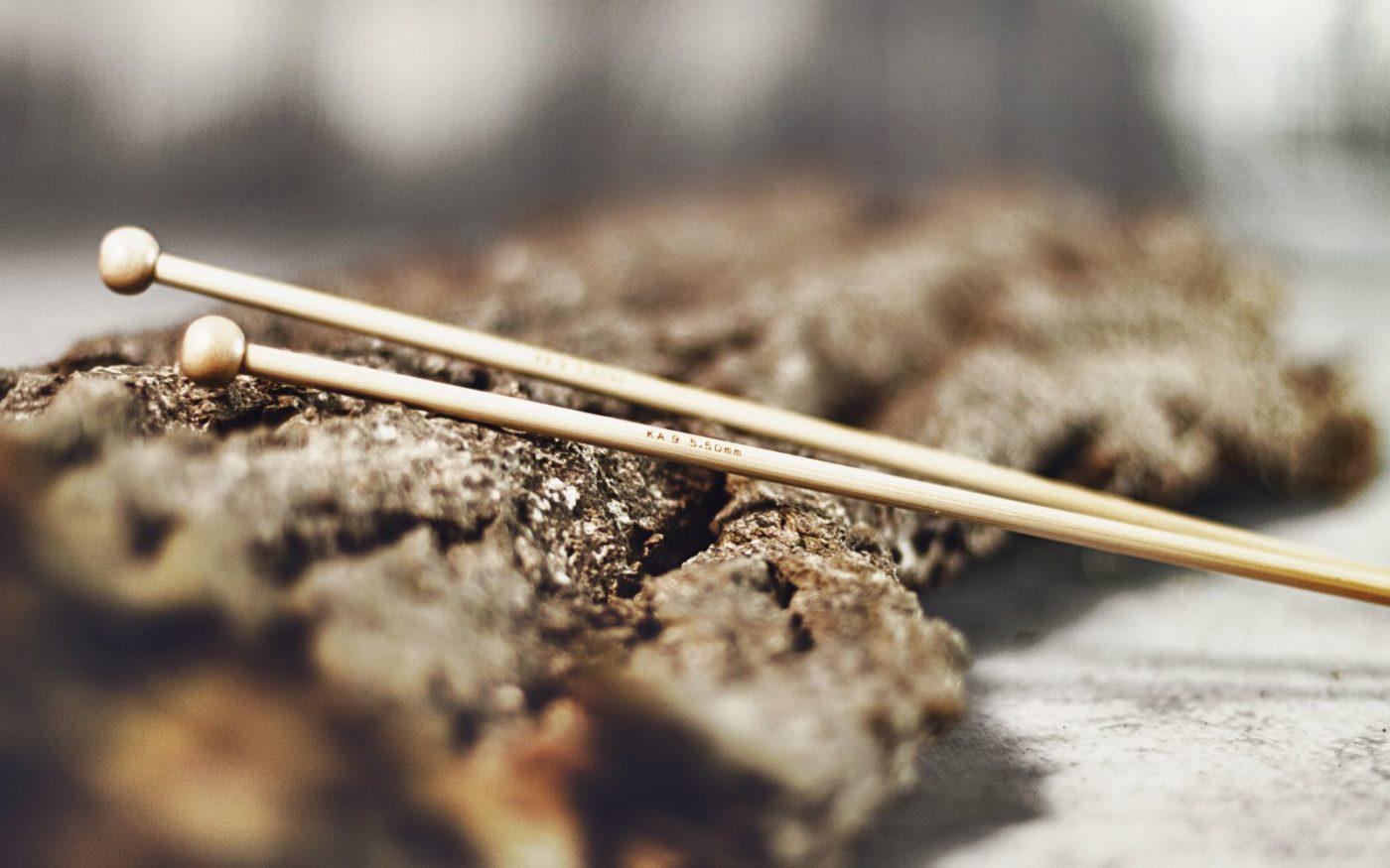 włóczki akcesoria druty bambusowe